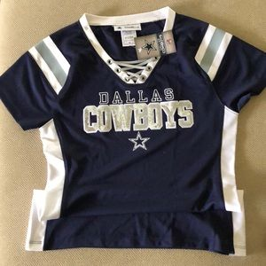 Dallas Cowboys women's fitted top